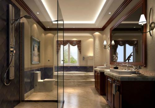 卫生间灯具效果图