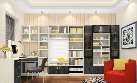 书房装修效果图