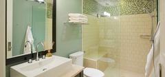 卫生间装修干湿分离,卫生舒适具备!