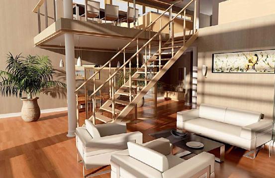跃层式住宅装修