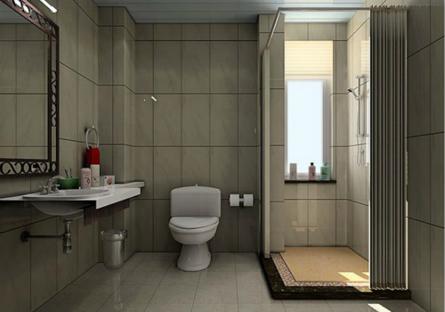 卫浴洁具效果图