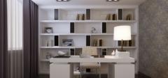 4款书房装修颜色搭配效果图