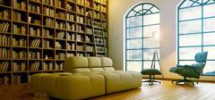 """""""书虫""""看过来 5个悠然休闲的书房装修效果图"""
