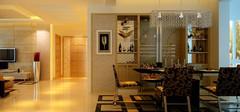 餐厅装修设计,餐台与灯光最重要
