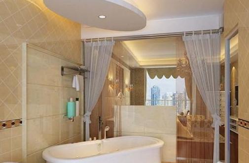 卫生间浴帘