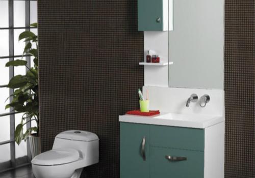 整体浴室柜效果图