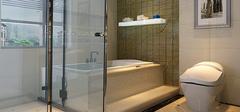 古典卫浴装修,中西方差异!