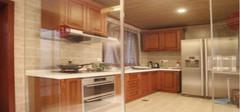 厨房玻璃隔断的效果