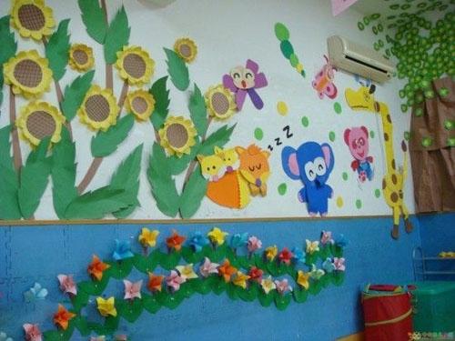 幼儿园墙面设计