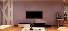 硅藻泥电视背景墙有哪些优点?