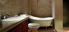 欧式风格卫生间装修,不将就的装修!
