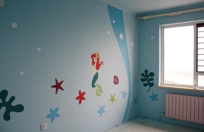 儿童房墙面