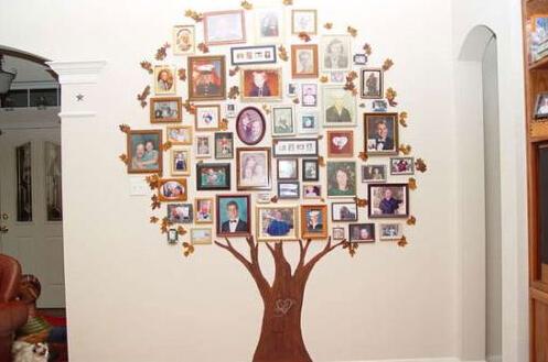 创意照片墙设计