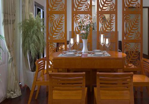 餐厅家具效果图