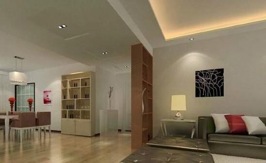 客厅隔断柜设计