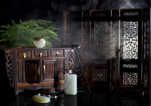 中式家具效果图