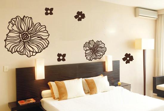 卧室手绘墙