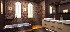浴室马赛克瓷砖的保养与清洁介绍