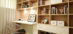 简单实用的现代简约风格书房设计