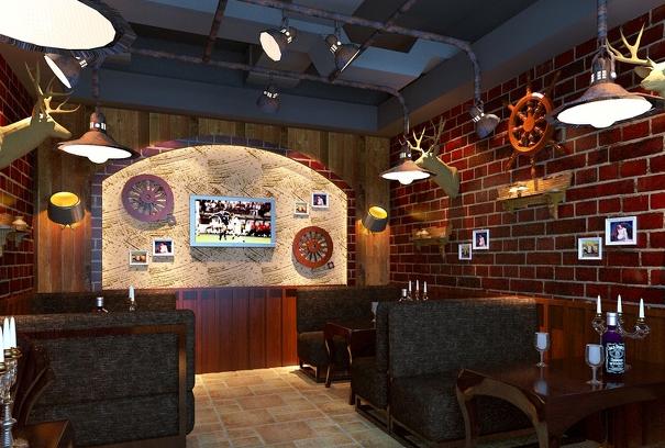 酒吧装修效果图