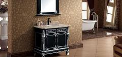 古典浴室柜,中西大比拼!
