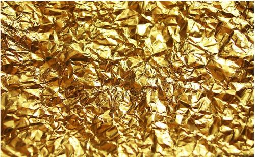 金箔纸是怎么贴的