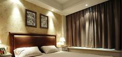 不同风格的卧室窗帘效果图赏析