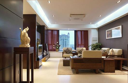 中式沙发背景墙