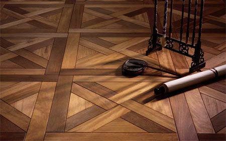 拼花实木地板