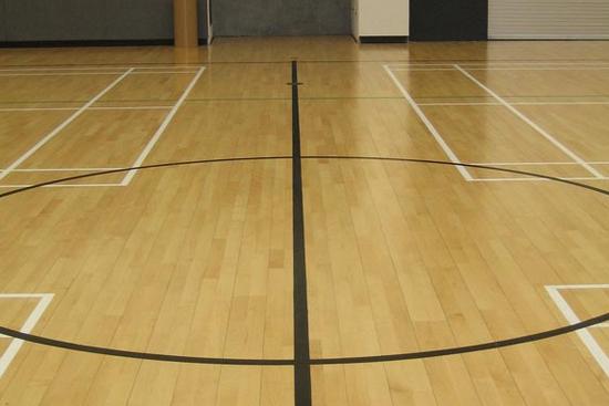 运动地板基准法施工