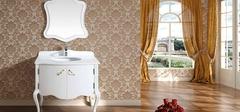 欧式浴室柜是如何安装的?
