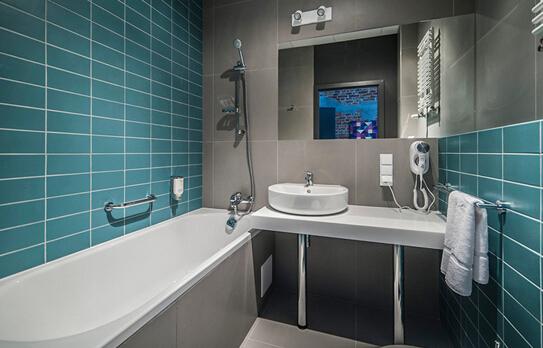 复古工业风格卫生间设计
