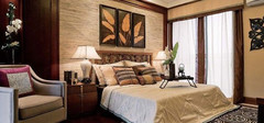 最自然的东南亚卧室效果图赏析
