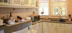 田园风格厨房装饰,小清新风!