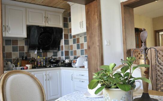 田园风格厨房装饰