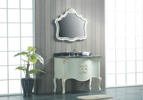 玻璃浴室柜效果图