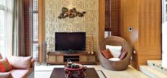 东南亚风格壁纸草编纹,时尚又独特!