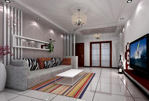 沙发与墙壁色彩搭配