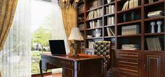 实木书柜有哪些优点?