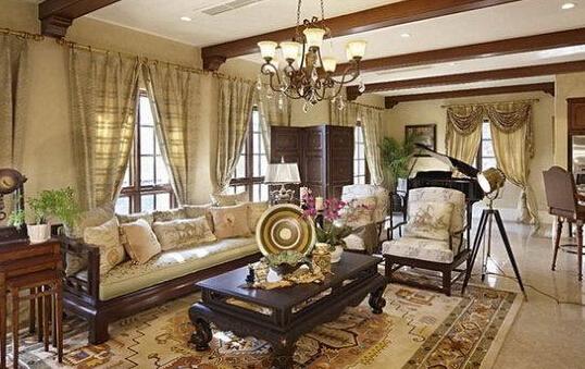 新古典风格窗帘装饰