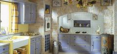 地中海风格厨房,烹饪清新体验!
