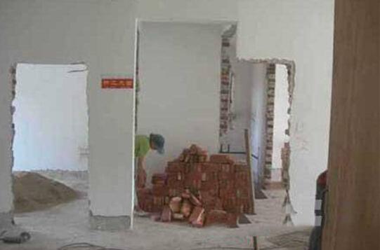 房屋拆改典型错误
