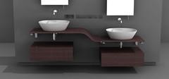 洗手盆组合柜的尺寸以及风水介绍