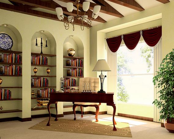 书房家具保养