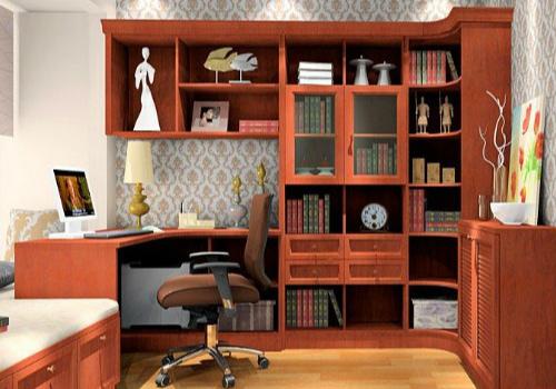 书柜效果图