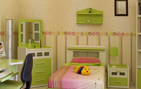 儿童房壁纸选购