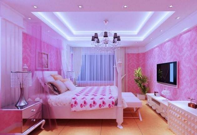 小公主卧室温馨创想装修效果图欣赏