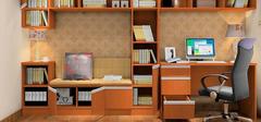 书柜定制更自由,充分利用空间!