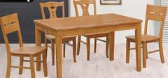 实木餐桌的尺寸,实木餐桌的保养方法