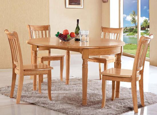 实木餐桌的尺寸